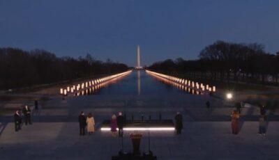 Președintele american Joe Biden și-a dedicat primul său discurs victimelor Covid-19