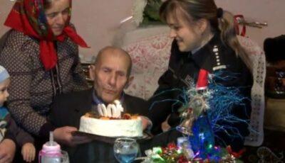 Un bunic din Fălești a sărbătorit 100 de ani