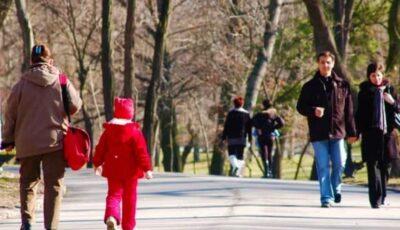 O masă de aer cald aduce vreme de primăvară în Moldova