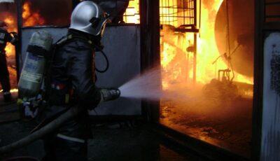 Două persoane, internate în stare gravă după explozii în urma acumulării de gaze
