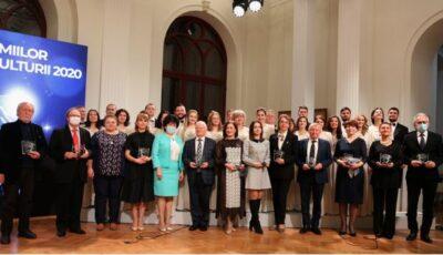 Gala Premiilor 2021 în domeniul culturii: Iată cine sunt premianții!