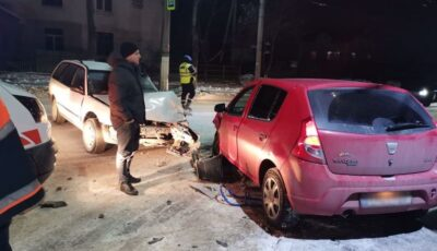 Accident grav la Bălți. Un șofer a tamponat un copil care se afla pe sanie