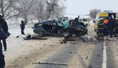 Accident teribil la Râșcani: 2 morți și 3 răniți