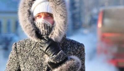 În Moldova se anunță un val ger cu temperaturi de până la -18 grade celsius