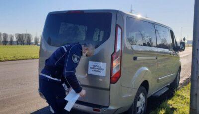 Șofer moldovean, amendat cu peste 5 mii de euro în Italia. Ce nereguli a constatat poliția