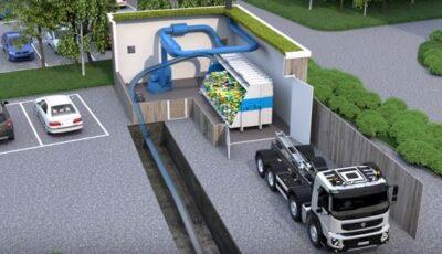 Video! Cum funcționează un sistem nou de colectare subterană și sortare a deșeurilor din Suedia