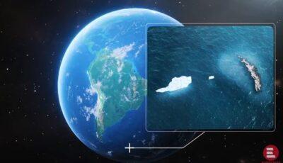 Cel mai mare aisberg din lume se dezintegrează. Imaginile surprinse de NASA din satelit
