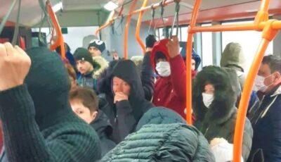 CNESP și-a revizuit decizia: se suspendă limitarea numărului de pasageri în mijloacele de transport în comun