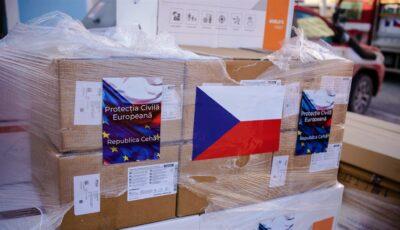 Cehia ne ajută în lupta cu pandemia: o donație de peste 1,3 milioane de euro a ajuns în Moldova