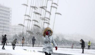 Grecia, lovită de cel mai puternic episod de iarnă din ultimii ani