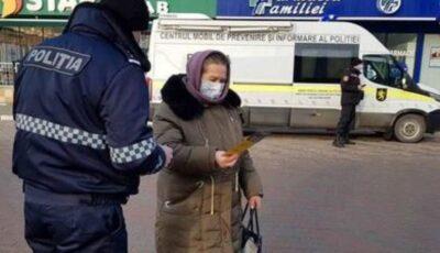 Poliția anunță că va intensifica controalele privind respectarea restricțiilor de prevenire a virusului Covid-19