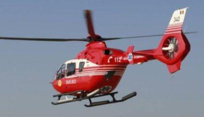O fetiță de 6 ani a căzut din telescaun, pe pârtia de schi din Sinaia