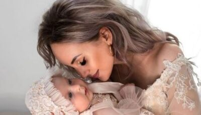 Cu bebelușul așezat la piept, îndată după naștere. Kătălina Rusu a dezvăluit o imagine emoționantă