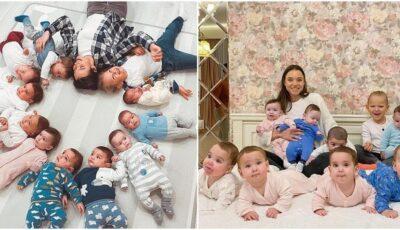 O femeie din Rusia, care creşte 11 copii, vrea să ajungă în final la peste 100