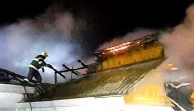 Incendiu în orașul Sângerei. O femeie, găsită fără viață în propria casă