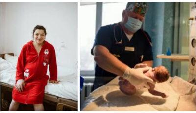 O femeie cu paralizie cerebrală infantilă a născut un copil sănătos la o maternitate din Chișinău