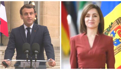 Video! Maia Sandu, întrevedere cu președintele Republicii Franceze, Emmanuel Macron
