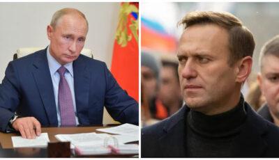 Încrederea cetăţenilor ruşi în Vladimir Putin a scăzut la 29% după protestele pro-Navalnîi