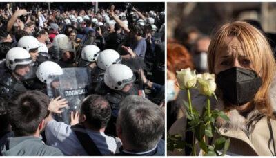 Proteste în Serbia după numărul mare de decese în rândul cadrelor medicale. Oamenii cer măsuri adecvate de protecție