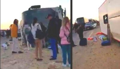 Egipt: Un autocar în care se aflau mai mulți moldoveni, s-a răsturnat