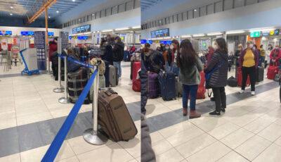 Mai mulți moldoveni aflați în dificultate în Israel, au fost repatriați cu ajutorul unei curse charter