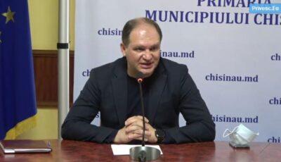 """Ion Ceban: ,,Nu putem asigura capacitatea de 50% de umplere a transportului public"""""""