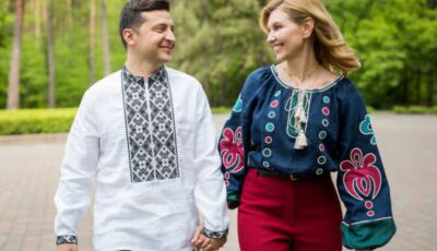 Mesajul emoționant al președintelui ucrainean Vladimir Zelenski pentru soția sa