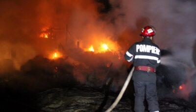 Caz îngrozitor la Drochia. Un copil de 2 ani a murit într-un incendiu