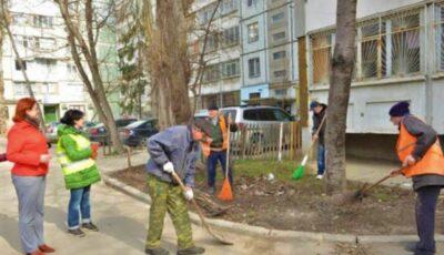 În Capitală va începe curățenia de primăvară