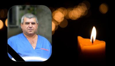 Un șofer de ambulanță din Telenești a pierdut lupta cu noul coronavirus