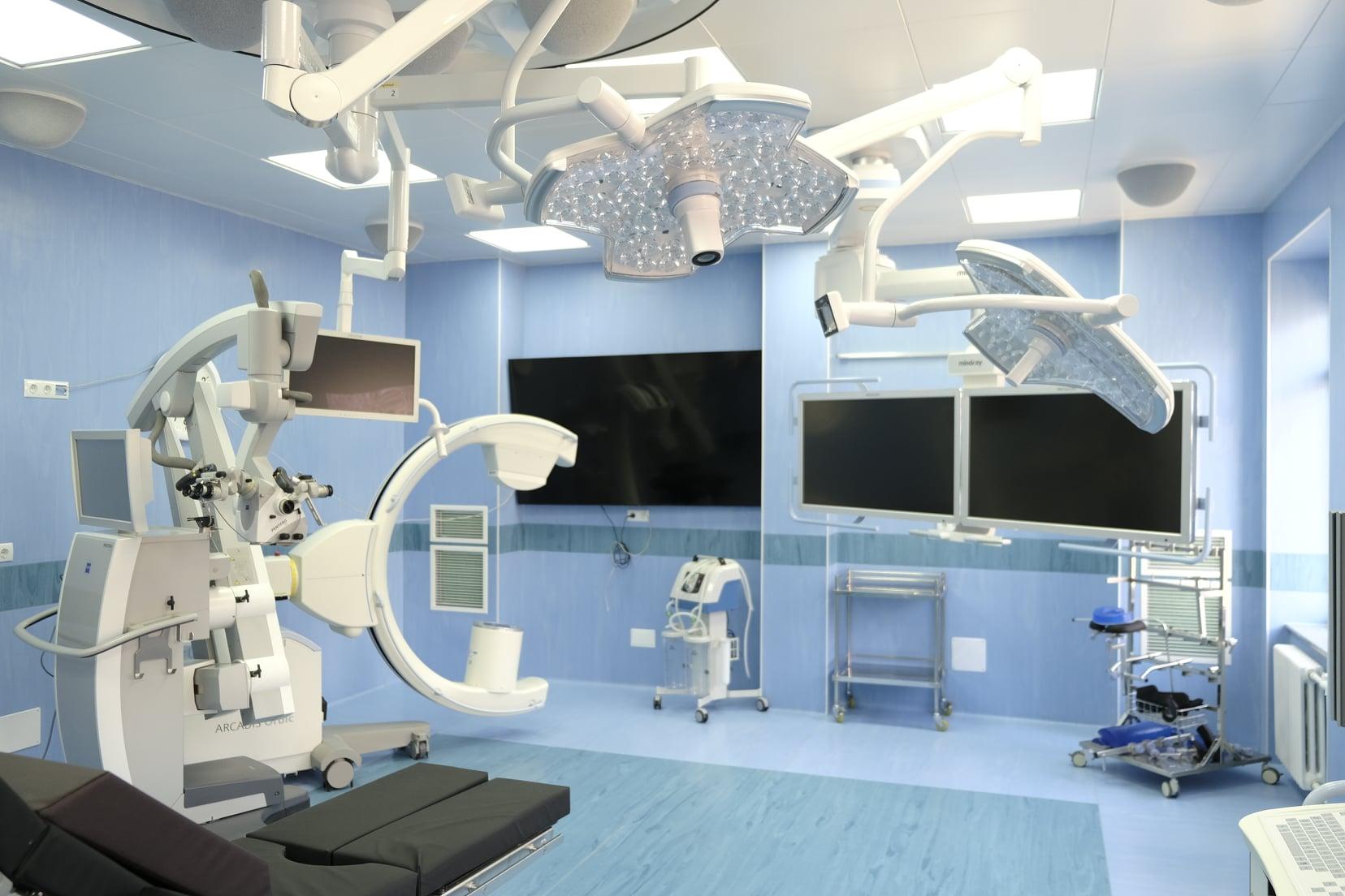 Foto: O nouă sală de operații, dotată cu aparataj medical modern, a fost inaugurată la Institutul de Neurologie și Neurochirurgie din Chișinău