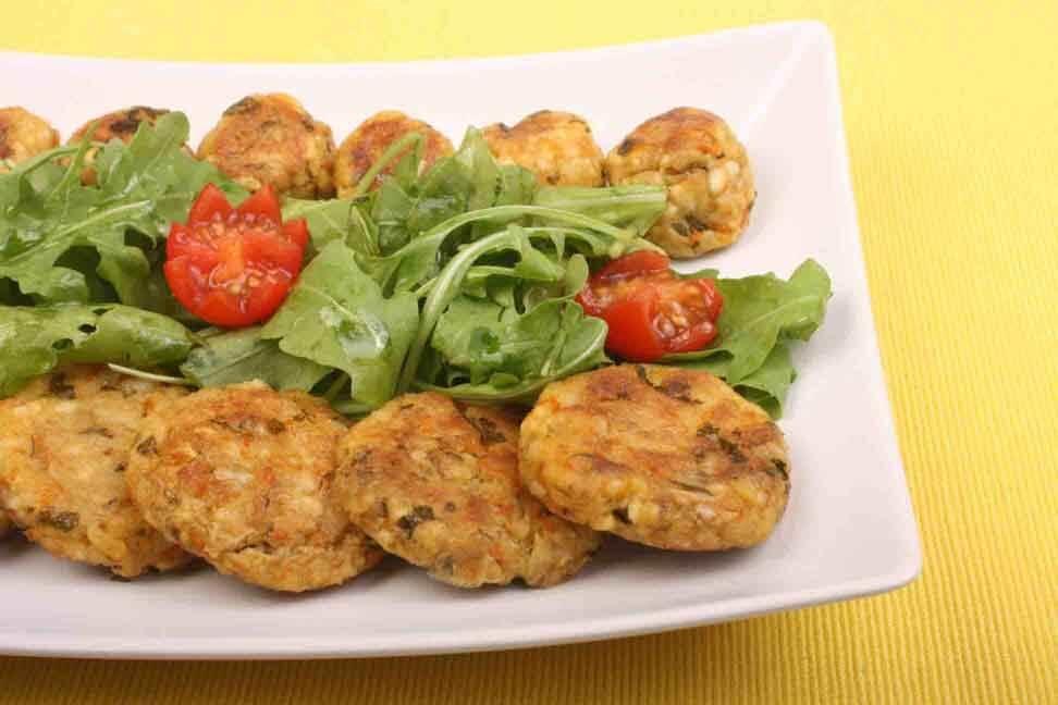 Foto: De POST: Chiftele din legume la cuptor