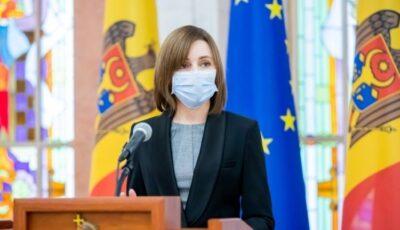 """Maia Sandu: ,,Sănătatea și viața oamenilor sunt mai presus de orice"""""""