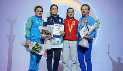 Două sportive din Moldova au urcat pe podium la turneul internațional din capitala Ucrainei