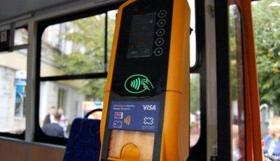 Chișinăuienii vor putea achita călătoriile cu cardul de plată, smartphone-ul și alte dispozitive