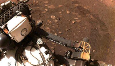 Imagini video spectaculoase cu roverul Perseverance, care a coborât pe suprafața planetei Marte