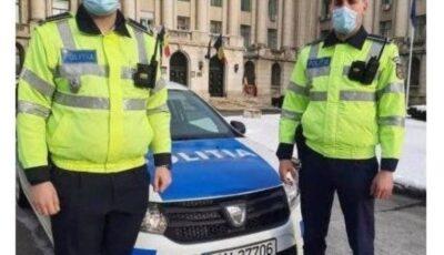 Doi polițiști au ajutat la nașterea unui copil