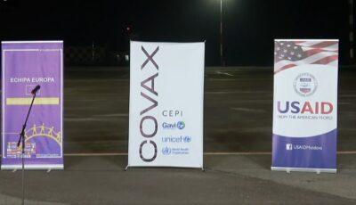 În Moldova a ajuns primul lot de vaccinuri anti-Covid oferite prin intermediul platformei Covax