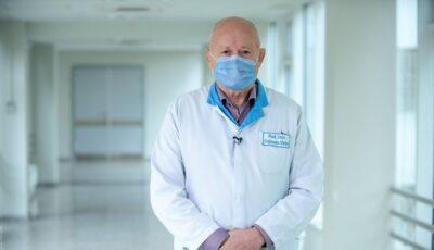 Medicul reanimatolog Victor Cojocaru a povestit cum a luptat cu boala Covid-19 fiind internat la terapie intensivă