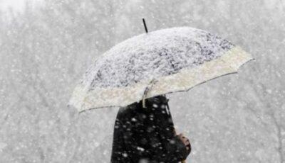 Vreme rece, ninsoare și vânt. Prognoza meteo pentru săptămâna următoare