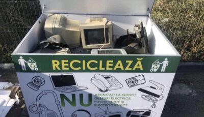Numărul punctelor de colectare a deșeurilor electrice și electronice din țară va crește, grație unui proiect susținut de PNUD