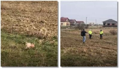Un bebeluș de doar câteva zile, găsit fără suflare de către șoferul unui tractor, pe un câmp
