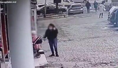 O fetiță de 6 ani, jefuită de doi indivizi în timp ce mama sa intrase într-un magazin