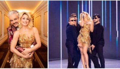 """Are toată susținerea regelui! Natalia Gordienko a interpretat piesa ,,Sugar"""" pe scena Palatului de la Kremlin"""