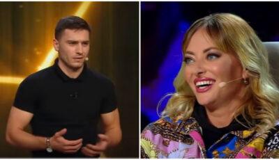 Un lector universitar din Moldova a făcut senzație pe scena iUmor. Cum l-au apreciat jurații?