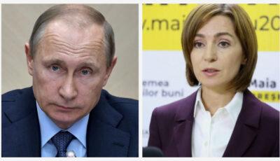 Maia Sandu i-a trimis o scrisoare lui Vladimir Putin. Care a fost intenția