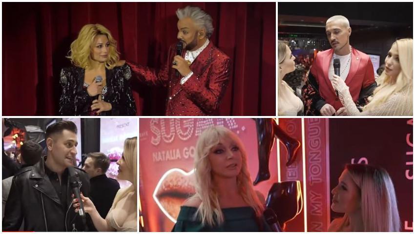 """Foto: Eurovision 2021! Natalia Gordienko și Filip Kirkorov au organizat un show grandios pentru lansarea piesei ,,Sugar"""""""