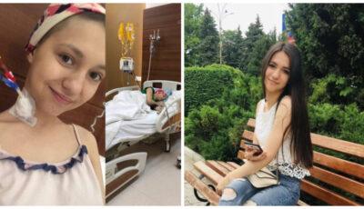 """Mesajul unei tinere de 18 ani care luptă cu cancerul: ,,Ajutați-mă! Vreau să trăiesc"""""""