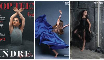 O fetiță moldoveancă a apărut pe coperta revistei din Canada Top Teen
