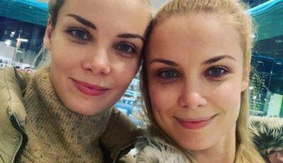 Actrițele și surorile gemene Arntgolts au devenit mame la o diferență de 18 zile